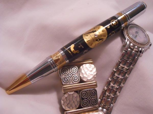 Ручки в стиле -Steampunk- (или: Какой должна быть ручка современного Стимпанкера? Что скажите?:) Добавила ещё фото. (Фото 4)