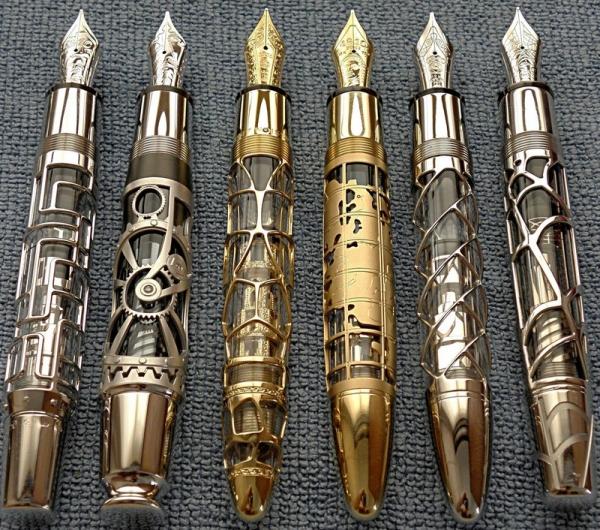 Ручки в стиле -Steampunk- (или: Какой должна быть ручка современного Стимпанкера? Что скажите?:) Добавила ещё фото. (Фото 15)