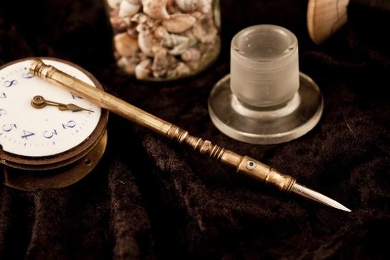 Ручки в стиле -Steampunk- (или: Какой должна быть ручка современного Стимпанкера? Что скажите?:) Добавила ещё фото. (Фото 23)