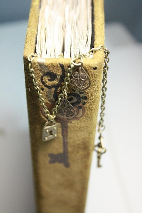 """Рукодельная книга под простым названием """"Стимпанк"""" (Фото 4)"""