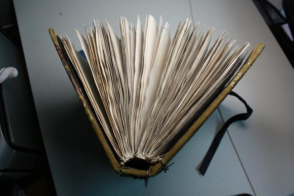 """Рукодельная книга под простым названием """"Стимпанк"""" (Фото 15)"""
