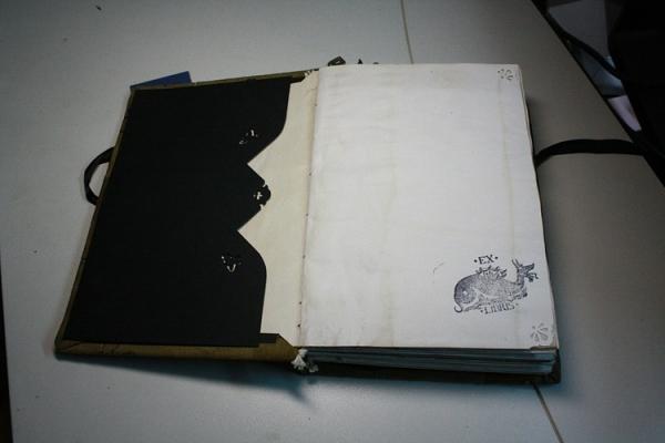 """Рукодельная книга под простым названием """"Стимпанк"""" (Фото 7)"""