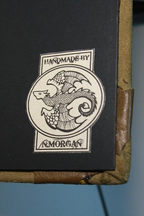 """Рукодельная книга под простым названием """"Стимпанк"""" (Фото 13)"""