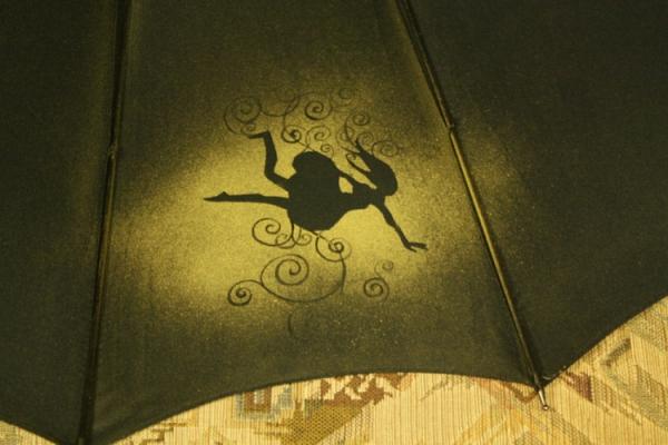 Продолжая тему росписи на зонтах в стиле стимпанк... (Фото 28)