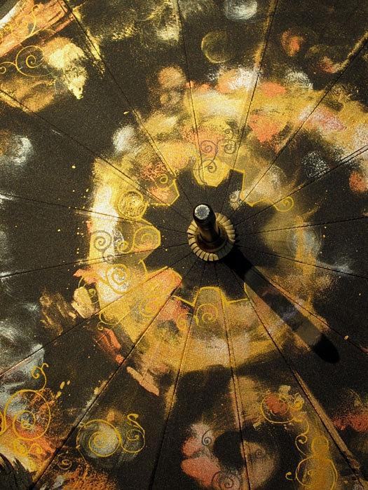 Продолжая тему росписи на зонтах в стиле стимпанк... (Фото 4)