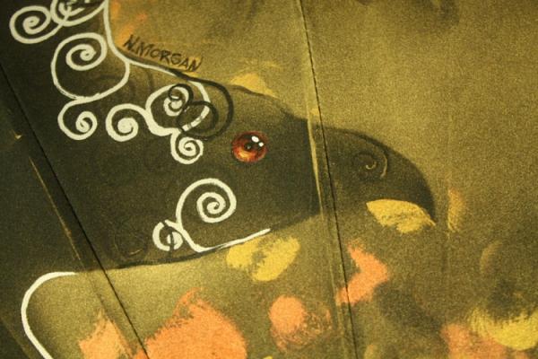 Продолжая тему росписи на зонтах в стиле стимпанк... (Фото 31)