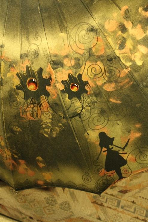Продолжая тему росписи на зонтах в стиле стимпанк... (Фото 23)