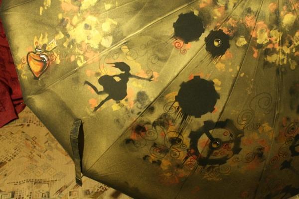 Продолжая тему росписи на зонтах в стиле стимпанк... (Фото 34)