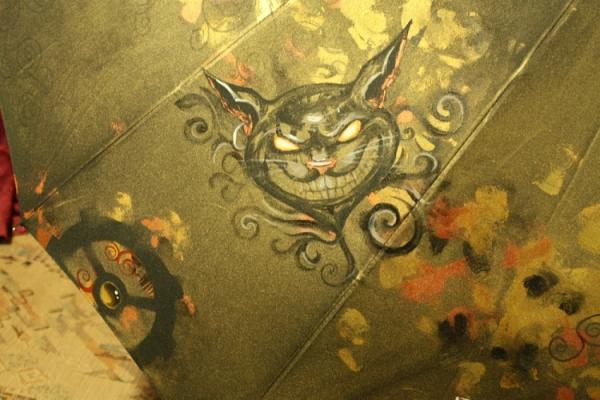Продолжая тему росписи на зонтах в стиле стимпанк... (Фото 33)