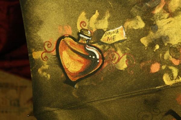Продолжая тему росписи на зонтах в стиле стимпанк... (Фото 35)