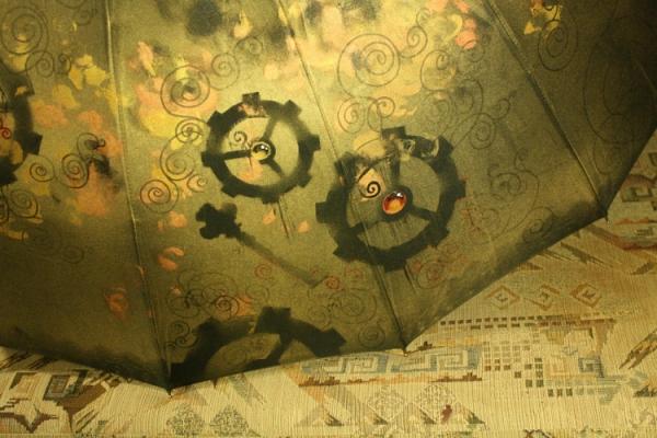 Продолжая тему росписи на зонтах в стиле стимпанк... (Фото 36)