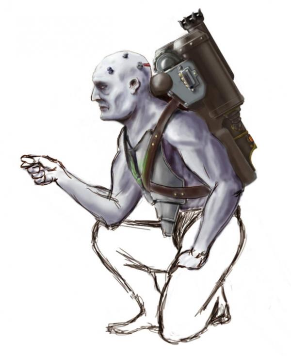Бессловесные герои - зомби на паровой тяге - 2 (Фото 3)
