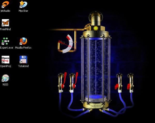 Интерактивный рабочий стол XP