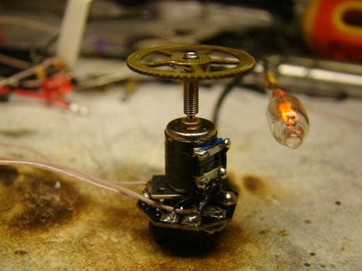 Аукцион. Модуль : микромотор + неонка.