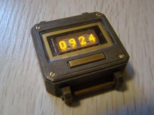 Часы на светодиодных матрицах