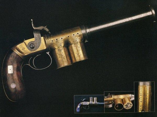 """Магазинный пистолет-репетир патента """"Смит и Персиваль"""" (Smith and Percival Patent)"""