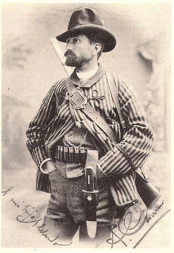 дон Antonio Covarsi Vicentell - испанский дворянин, реакционер и охотник.