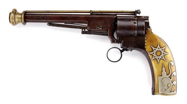 Капсюльный револьвер Бенч