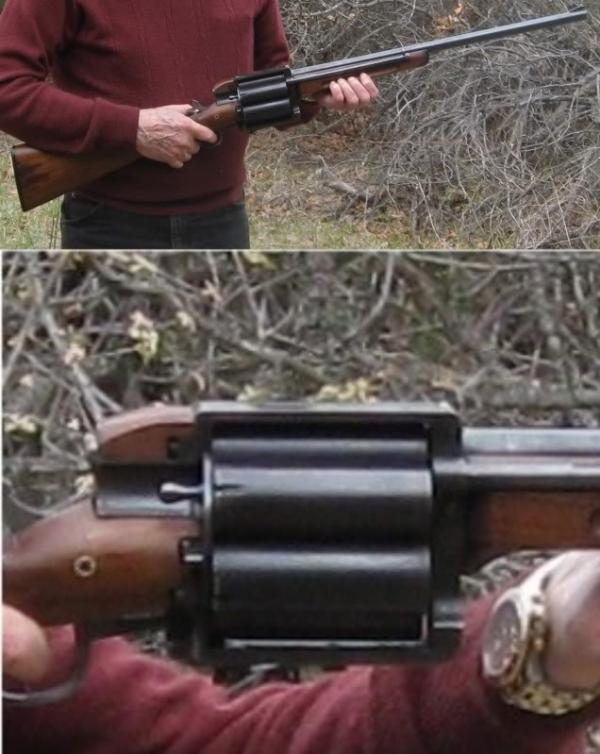 Револьверное ружьё, 12 калибр