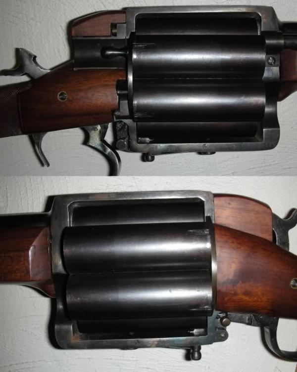 Револьверное ружьё, 12 калибр (Фото 2)