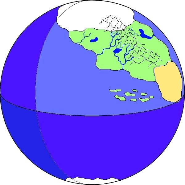 Общая география мира Скрежет.