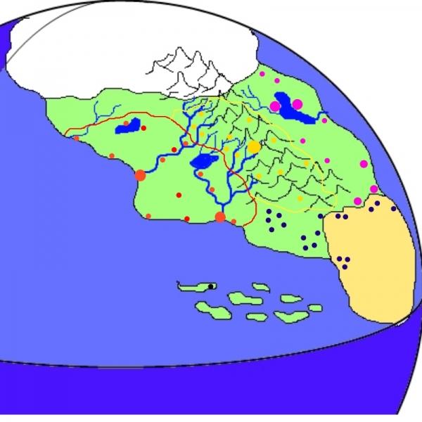 Общая география мира Скрежет. (Фото 2)
