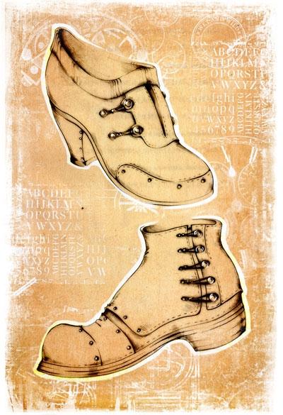 Коллекция стим-панк одежды и обуви от Sangi (Фото 10)