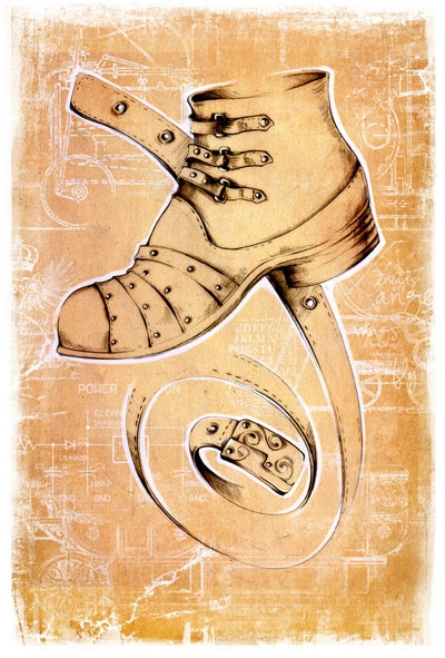 Коллекция стим-панк одежды и обуви от Sangi (Фото 17)