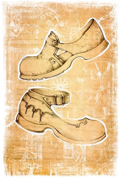 Коллекция стим-панк одежды и обуви от Sangi (Фото 12)
