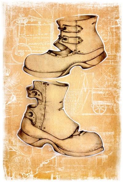 Коллекция стим-панк одежды и обуви от Sangi (Фото 9)
