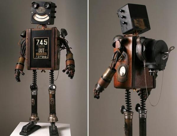 Как сделать из робота подручных средств в 918
