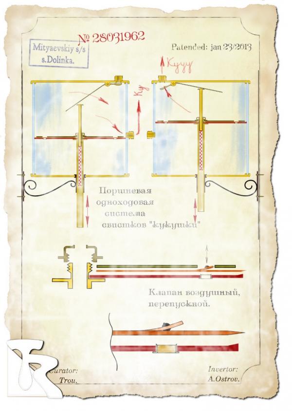 Старинный патент. :)