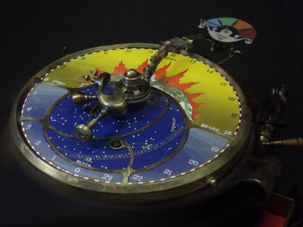 Часы с пеналом. Камуфлет. (Фото 12)
