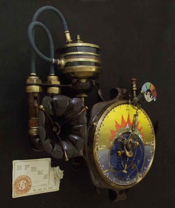 Часы с пеналом. Камуфлет. (Фото 30)