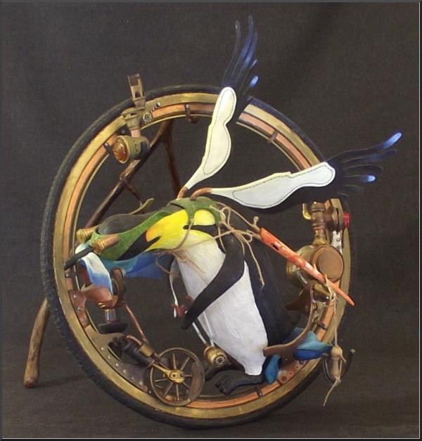 Максимилиан на интроцикле
