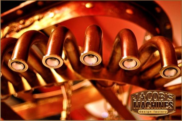 """Люстра """"SPIDER"""" от механика Якова Мёрхена. (Фото 4)"""