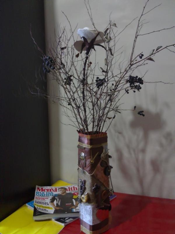 Зимняя ваза (Фото 26)