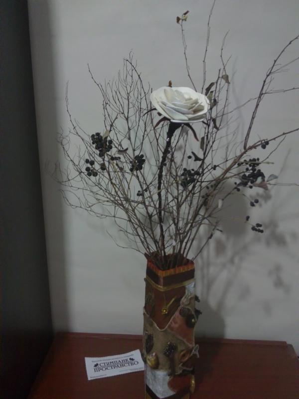 Зимняя ваза (Фото 22)