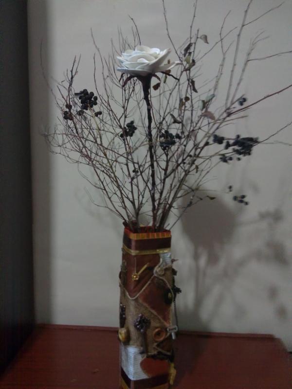 Зимняя ваза (Фото 21)