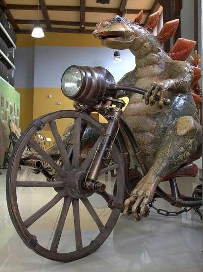 «Мир колеса» - от Юрского периода до наших дней (Фото 5)