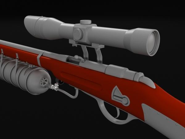 Steampunk rifle (Фото 4)