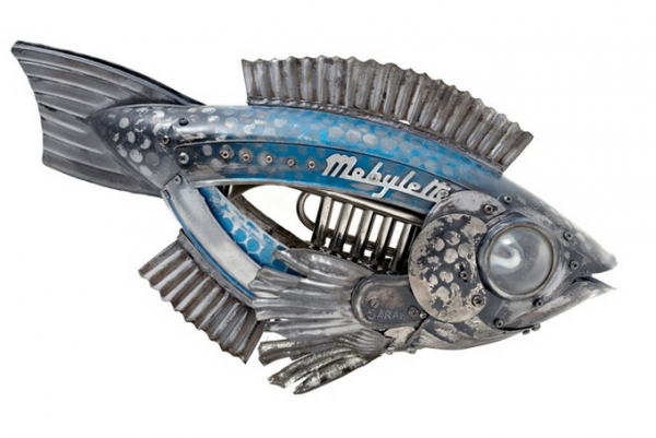 Стимпанк скульптуры Edouard Martinet (Фото 2)