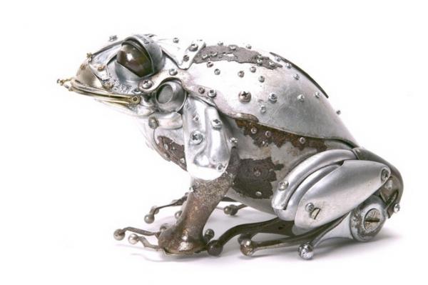 Стимпанк скульптуры Edouard Martinet (Фото 7)