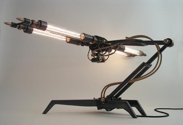 Лампы, созданные немецким дизайнером Франком Бухвальдом (Frank Buchwald).