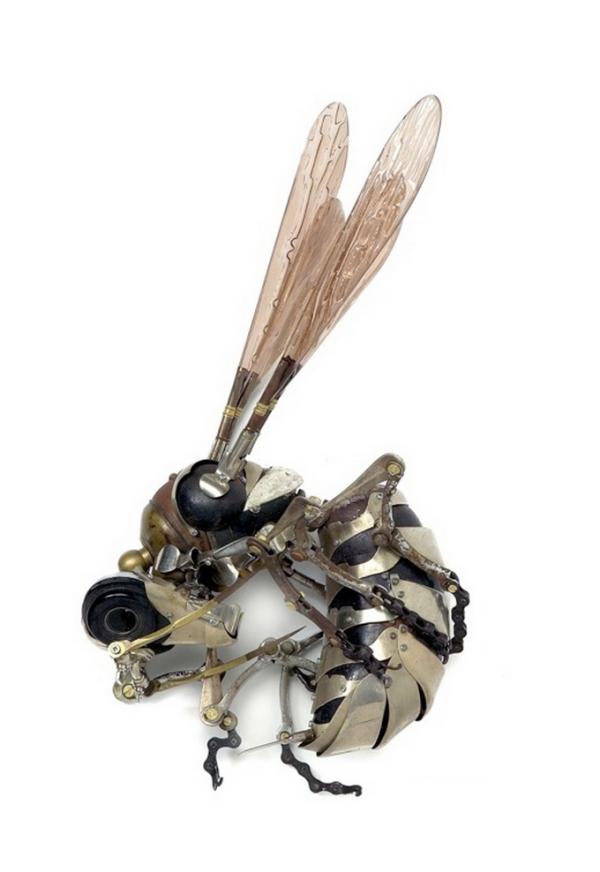 Стимпанк скульптуры Edouard Martinet (Фото 12)