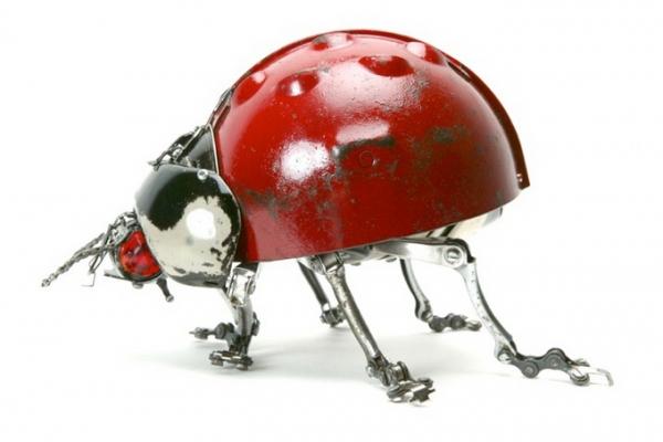 Стимпанк скульптуры Edouard Martinet (Фото 10)