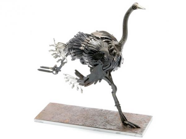 Стимпанк скульптуры Edouard Martinet (Фото 9)