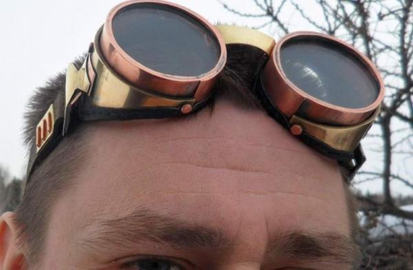 Медно латунные гогглы (Фото 23)