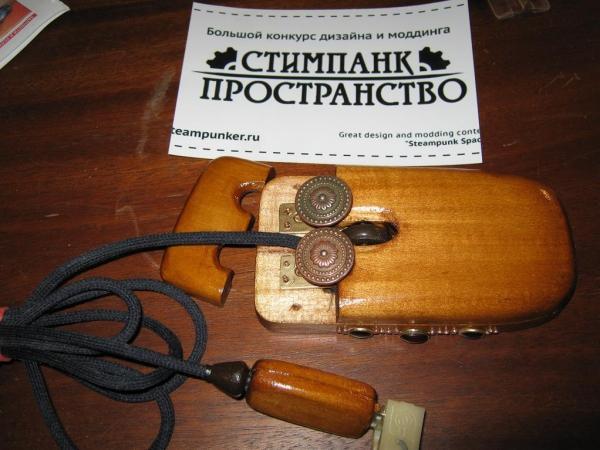 Steampunk компьютерная мышь. (Фото 12)