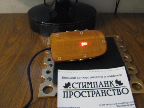Steampunk компьютерная мышь. (Фото 17)
